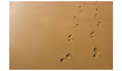 footsteps in the sand poem. [Poem] Footprints in The Sand